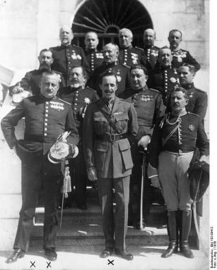 Primo de Rivera und der König von Spanien